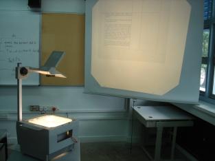 proyector de acetatos